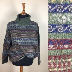 Vintage oversized grandpa sweater size XXL